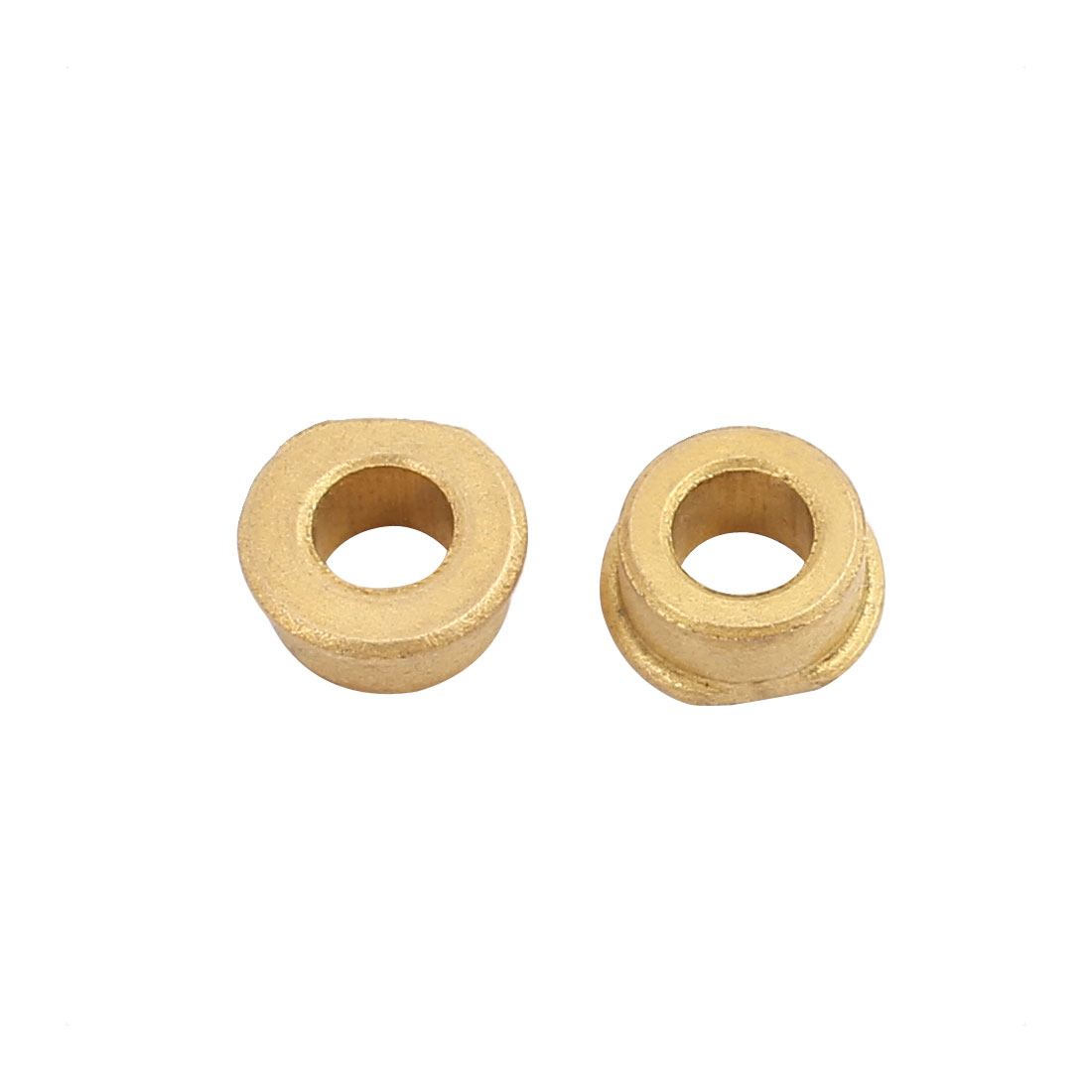 Pair 4mm Hole Dia Bronze Shaft Bushing Height 5mm Depth 8.2mm