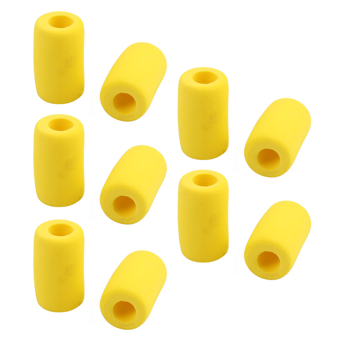 10Pair 18x30mm Anti Vibration Rubbers for Helicopter Tripod And Boat Yellow 9mm Hole Dia