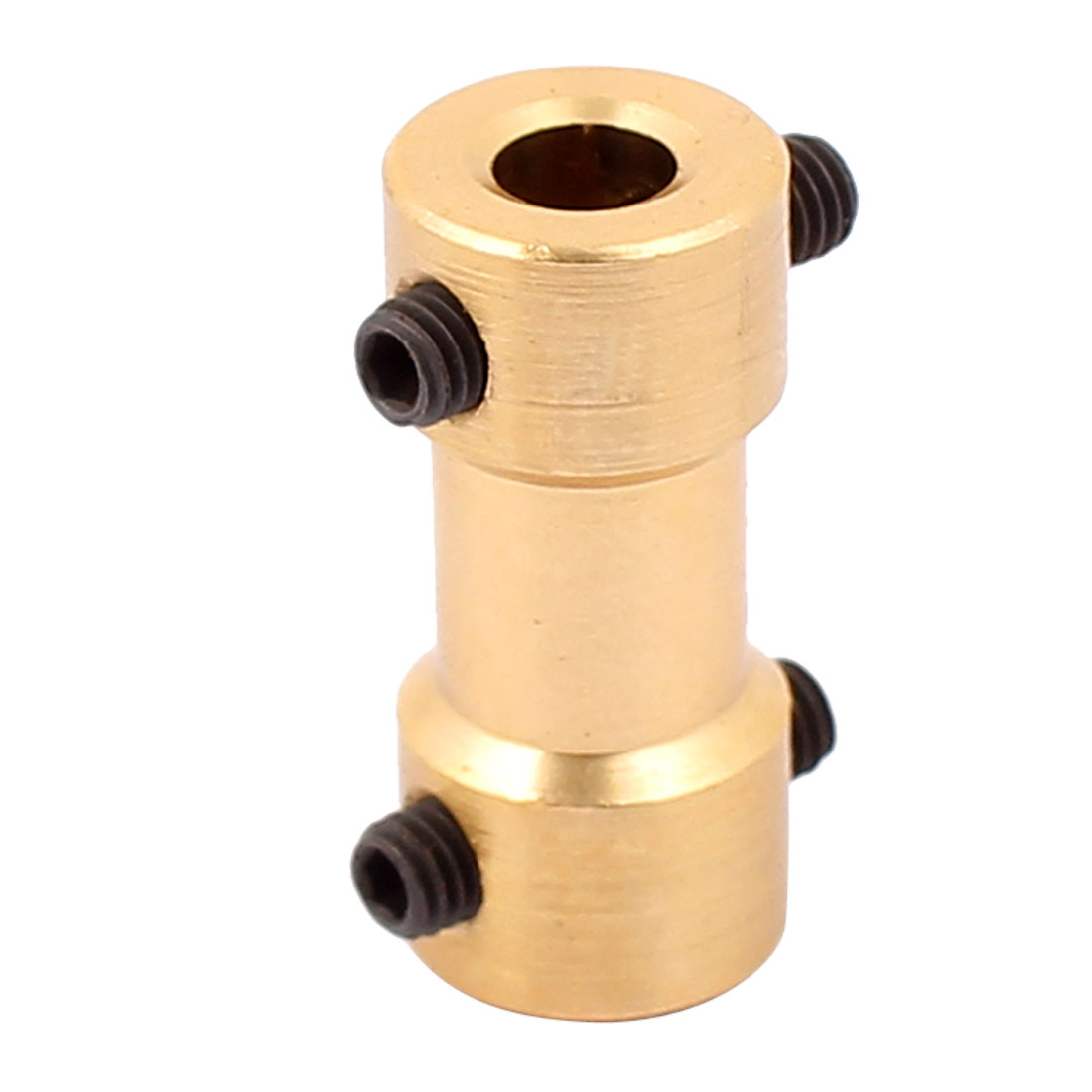 4mm to 3.17mm Copper DIY Motor Shaft Coupling Joint Connector for Electric Toy