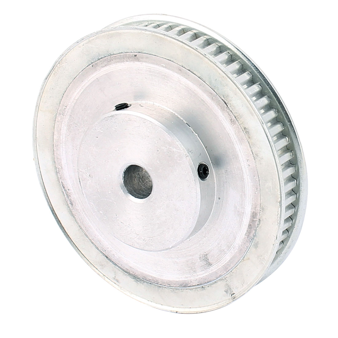 XL60 60 Teeth 12mm Bore Dia 10mm Width Belt Motor Drive Timing Pulley Silver Tone