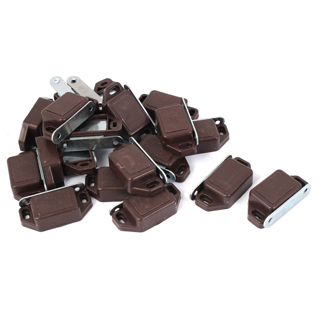 Cabinet Hardware Door Stopper Magnetic Catch Latch 57mm Length 20pcs