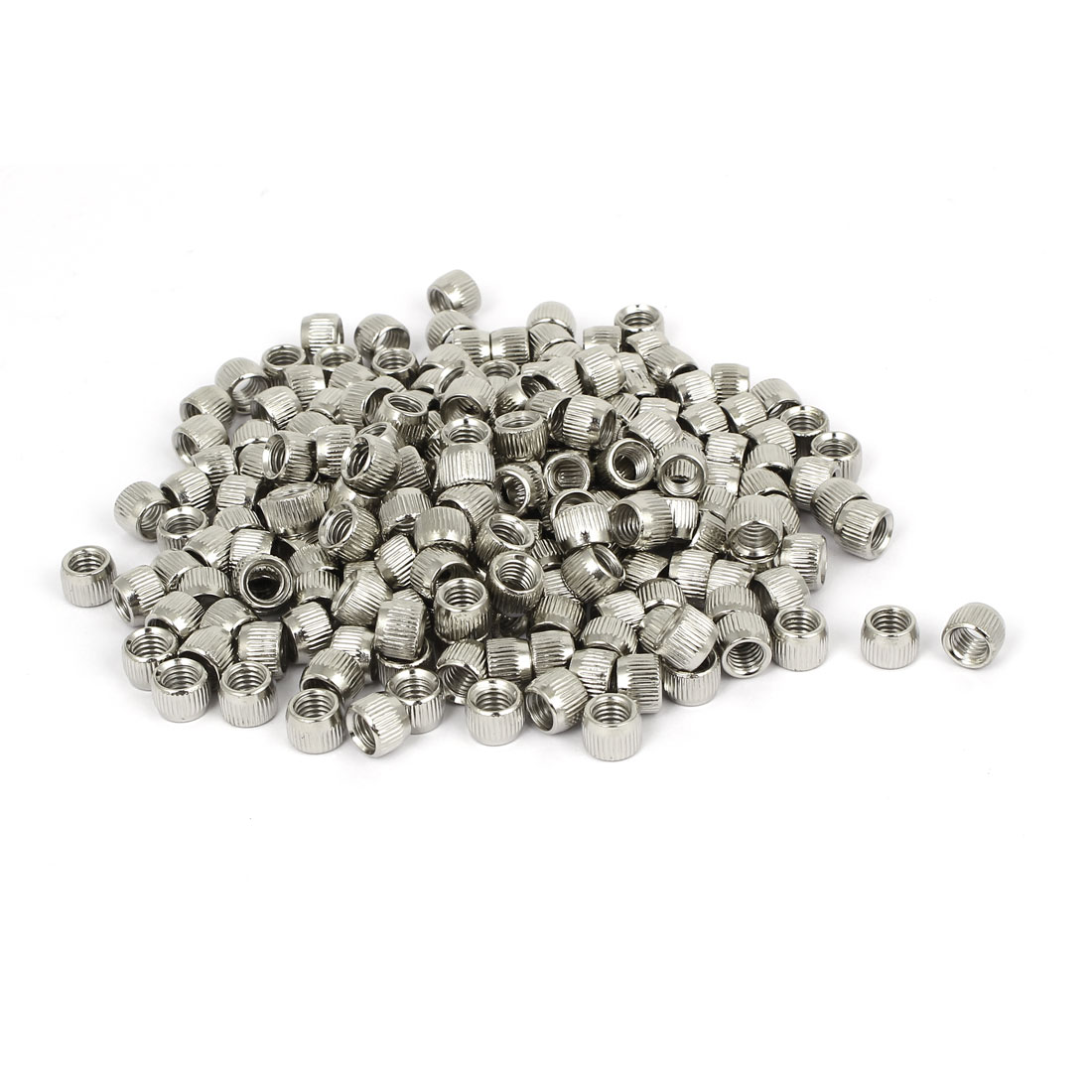 5mm Female Thread Cone Shaped Metal Conical Nut Fasterner 200pcs