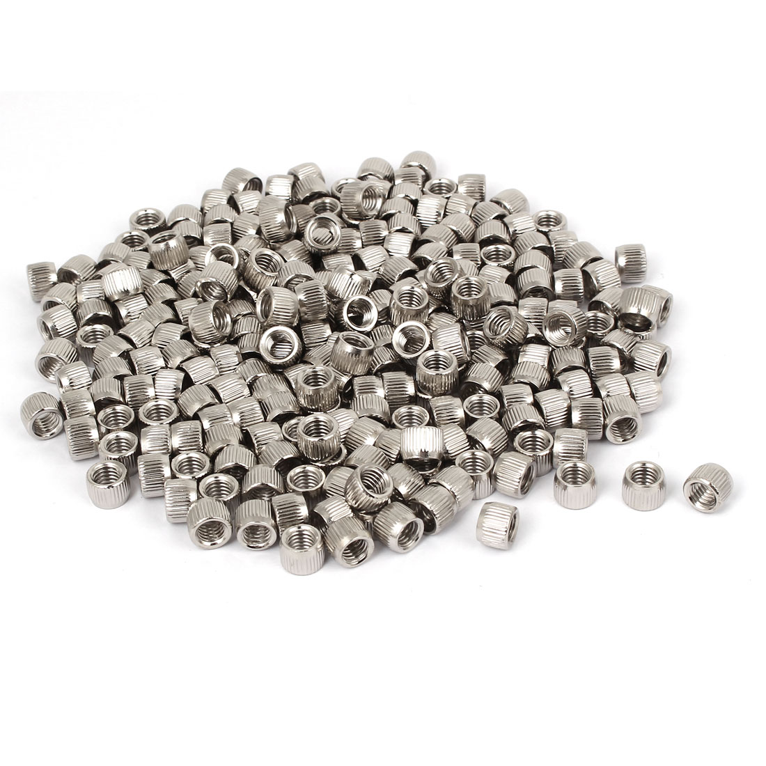 5mm Female Thread Cone Shaped Metal Conical Nut Fasterner 500pcs