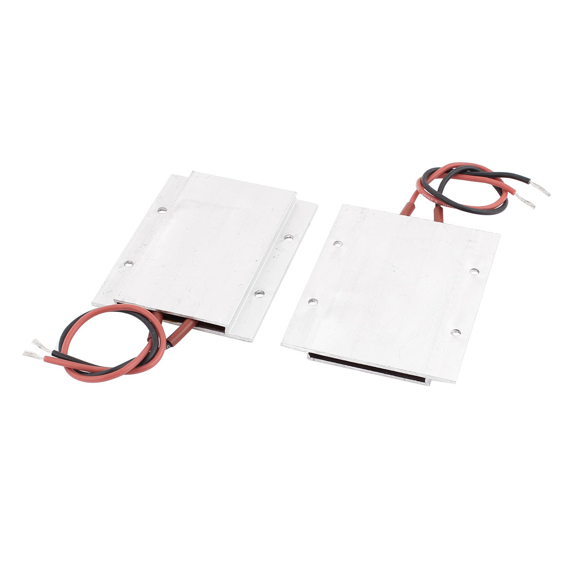 2PCS 220V 105W 230C Aluminum Insulation PTC Heating Element Thermostat Heater Plate