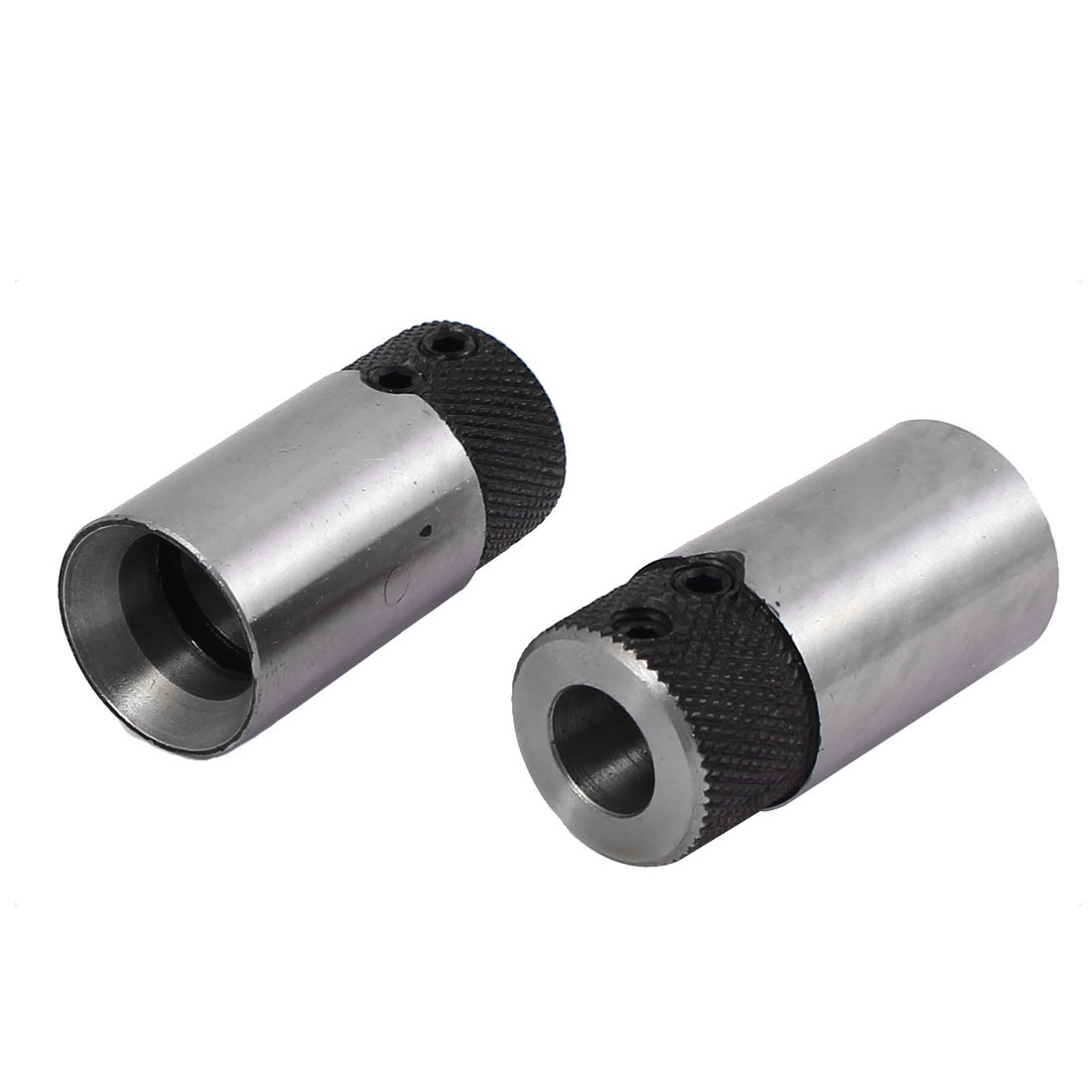 2pcs 20mmx14mmx45mm Brad Point Boring Drill Sleeve Base Chuck Adapter for 10mm Shank