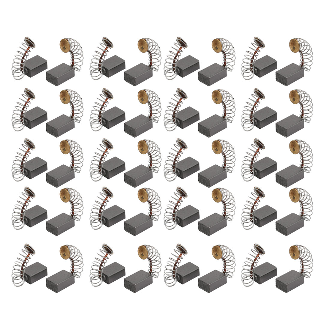 10 Pairs Motor Rotary Power Tool Carbon Brush 11mm x 5mm x 8mm