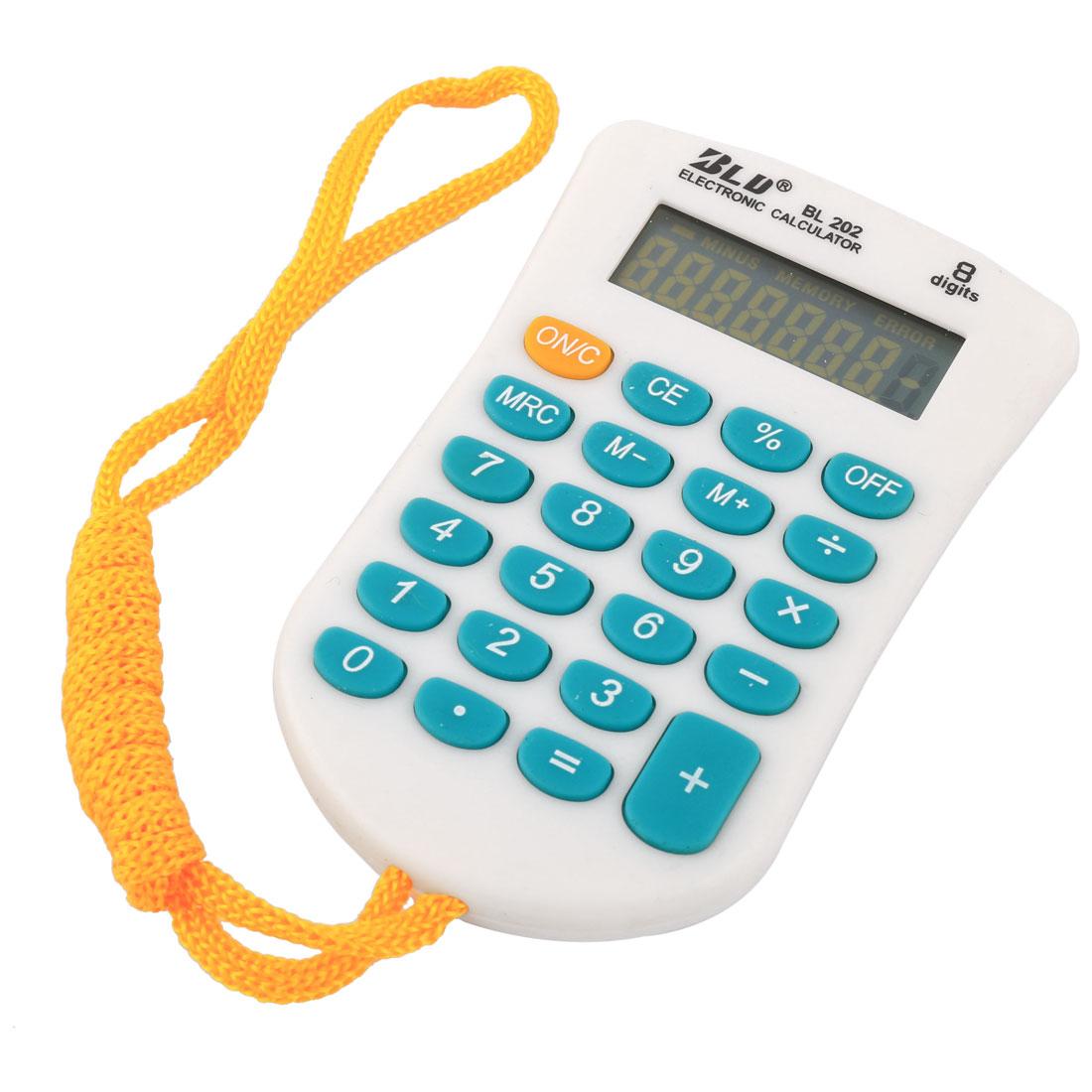 School Home Study Tool Desktop Pocket 8 Digits Electronic Scientific Calculator