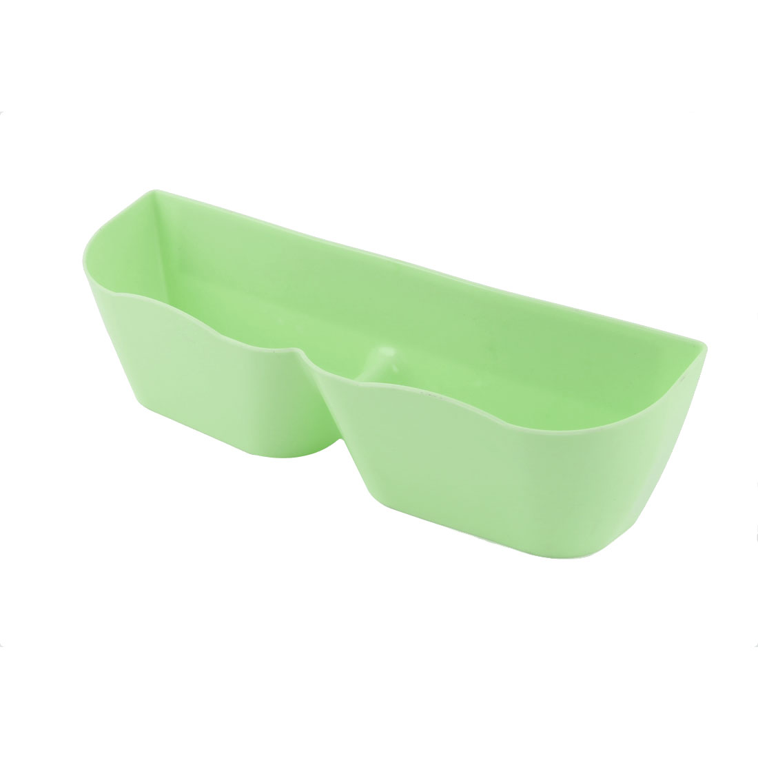 Home Plastic Wall Mounting Shoes Slippers Holder Rack Storage Organiser Green