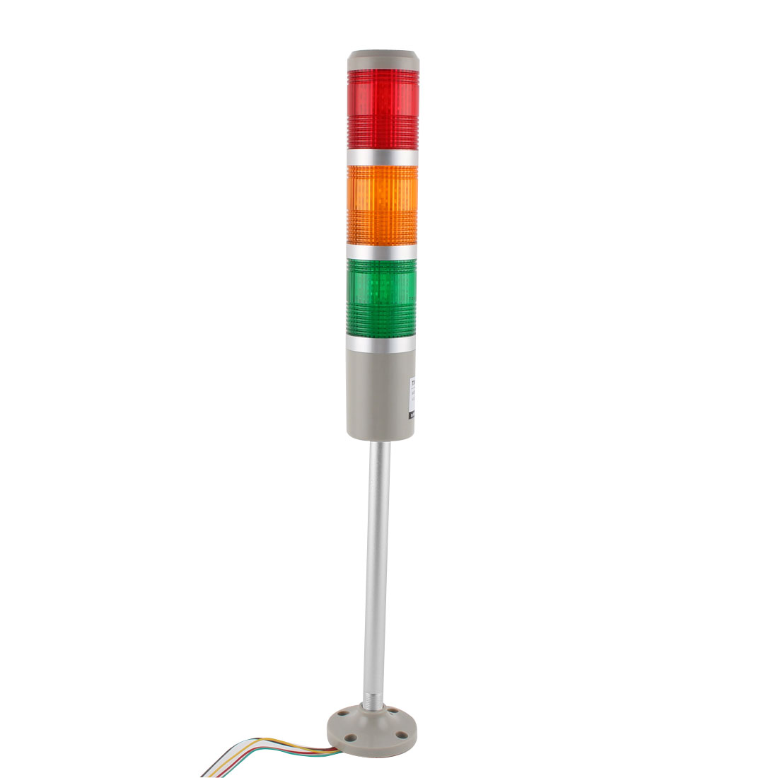 TB50-3T-D DC 24V Red Green Yellow Signal Tower Lamp Industrial Warning Stack Light