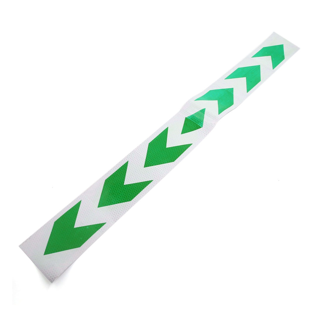 Green White Truck Safety Warning Night Driving Reflective Sticker for Car