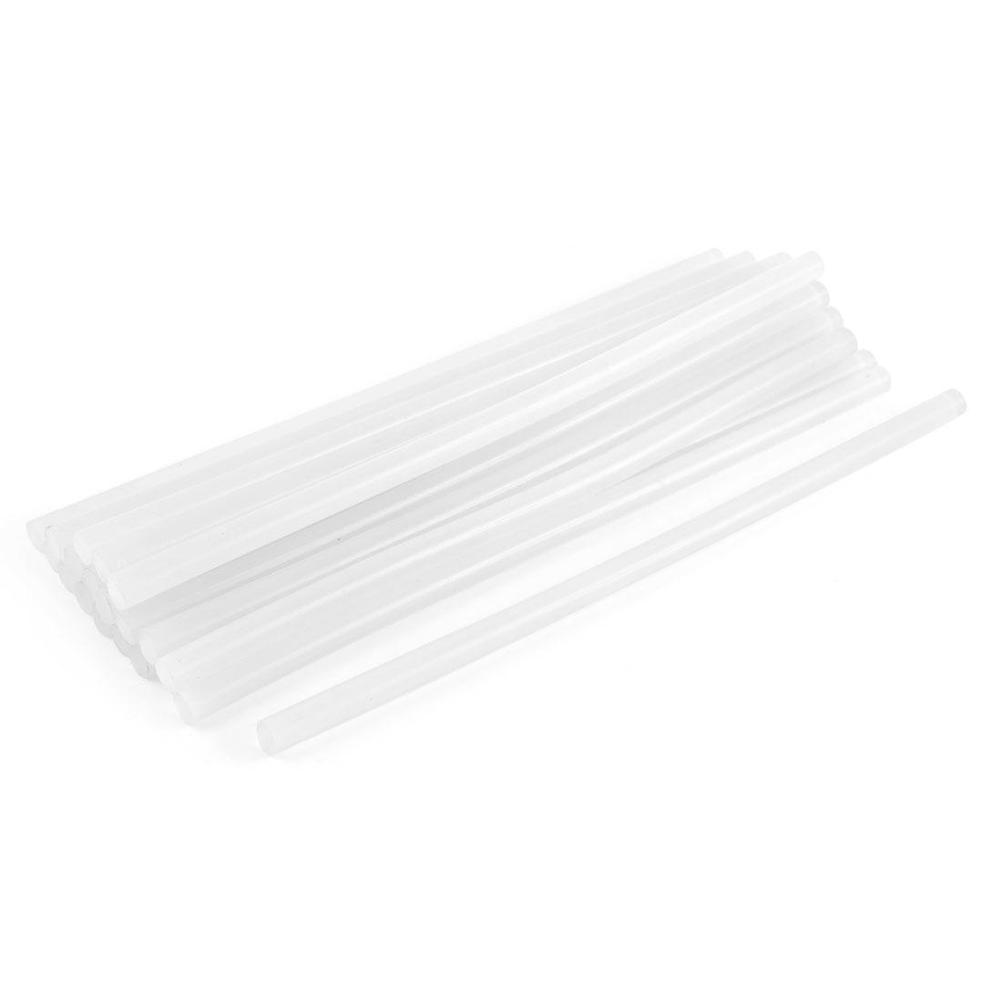 20 Pcs Clear Craft Model Bonding Adhesive Hot Melt Glue Sticks 11mm x 300mm