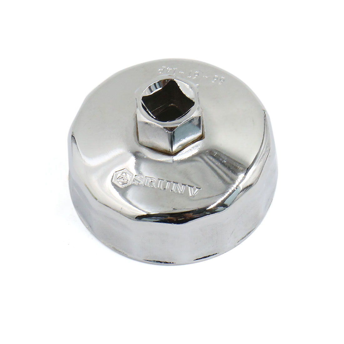 66~67mm Inner Diameter 14 Flutes Stainless Steel Alloy Oil Filter Wrench Cap Shape for Car