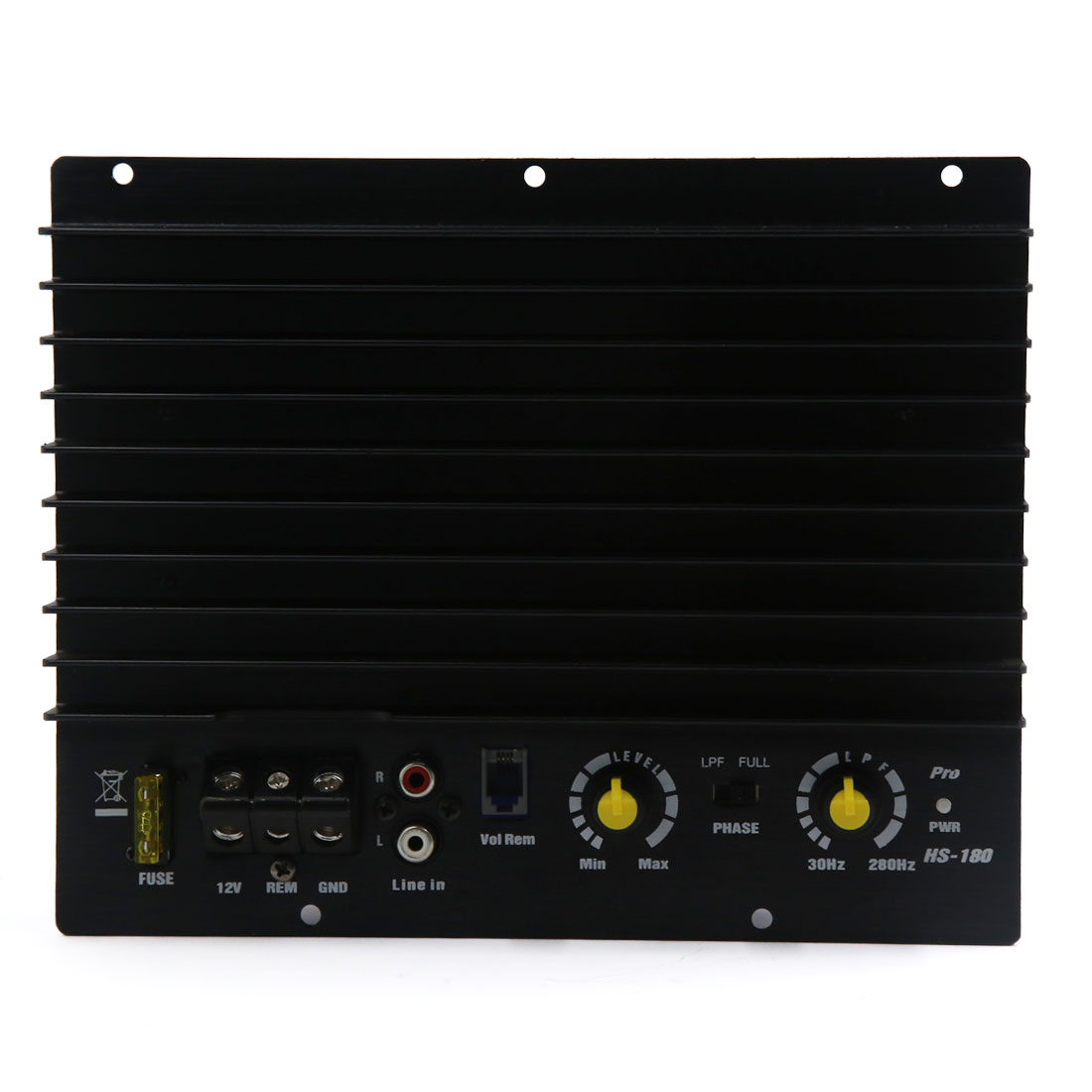 10 Inches HS-180 Audio Stereo Power Amplifier Speaker for Vehicle Car