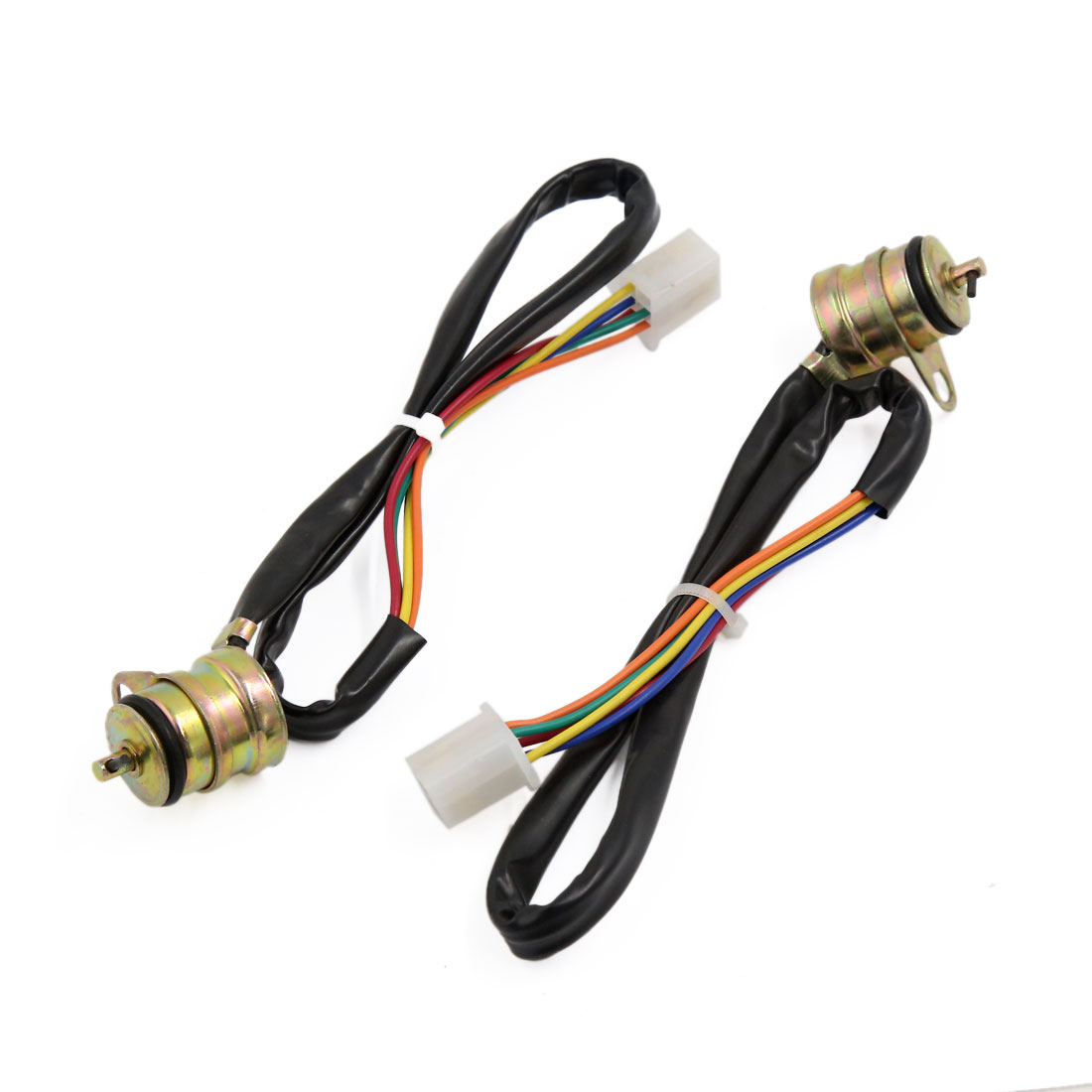 2pcs Motorbike 4 Speed Gear Position Gauge Assy Sensor Wiring Wire for CG125