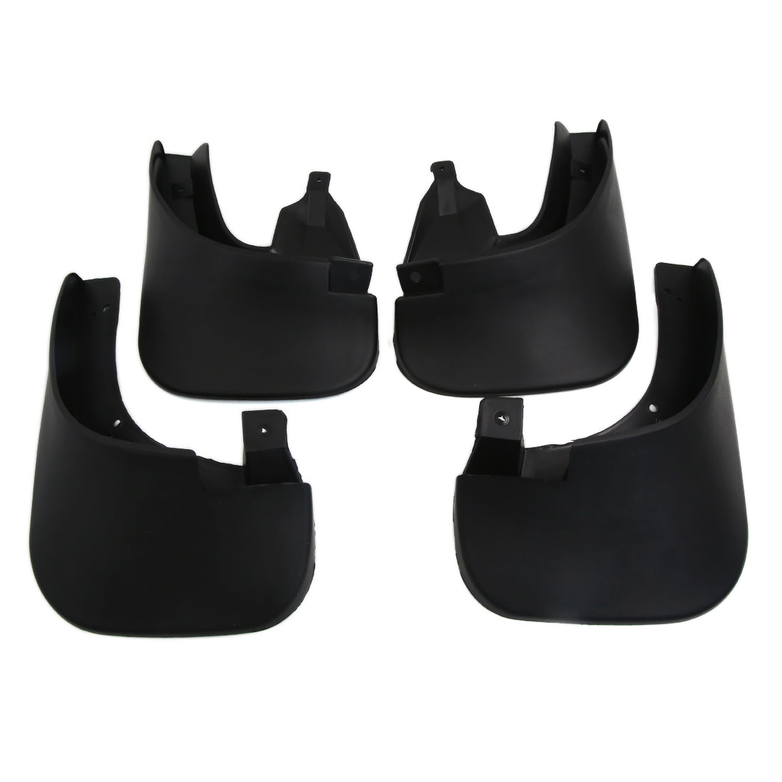 4PCS Black Front Rear Splash Guards Plastic Mud Flaps Set for Tucson 13- 15
