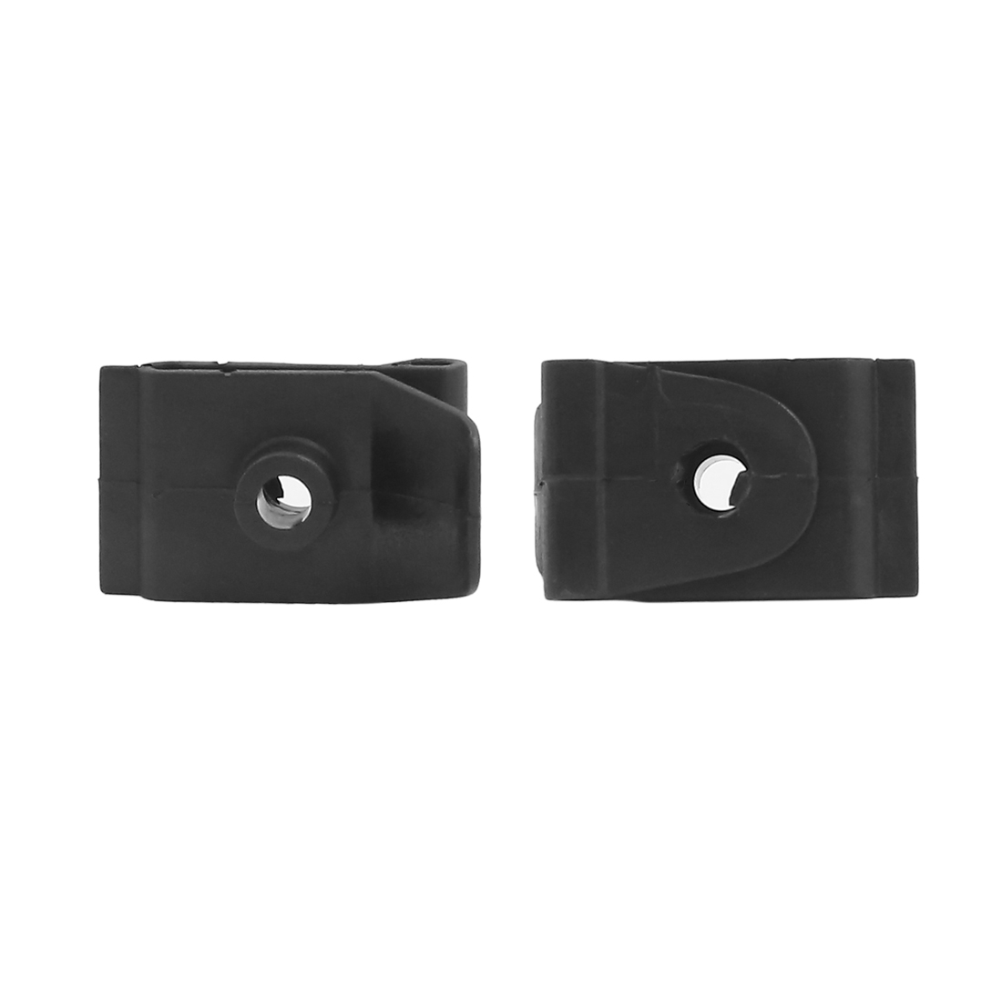 Vehicle Car Defender Door Card Interior Weatherstrip Moulding Clip Black 100pcs