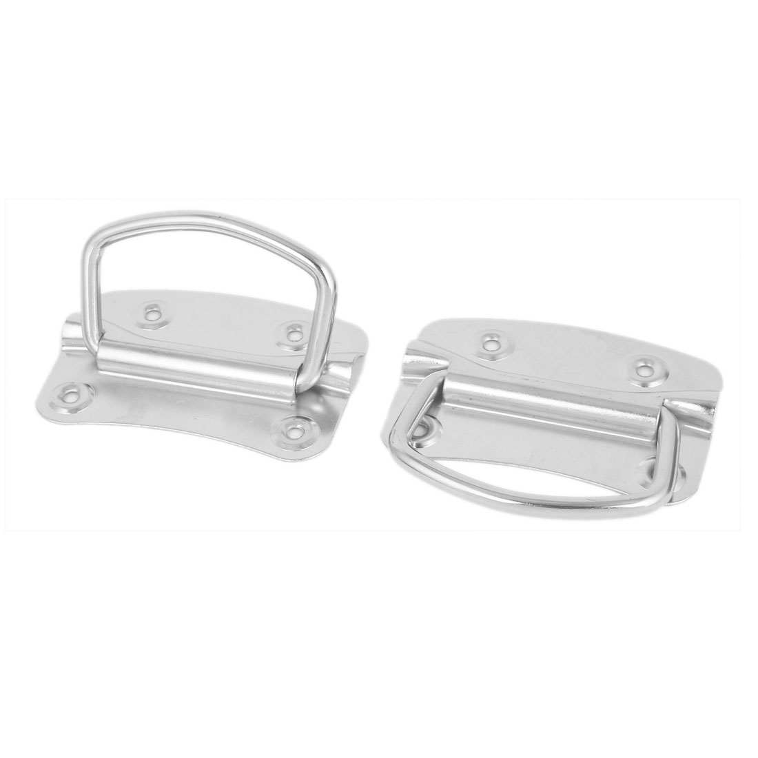 Chest Cupboard Cabinet Metal Flush Pull Handle 2pcs