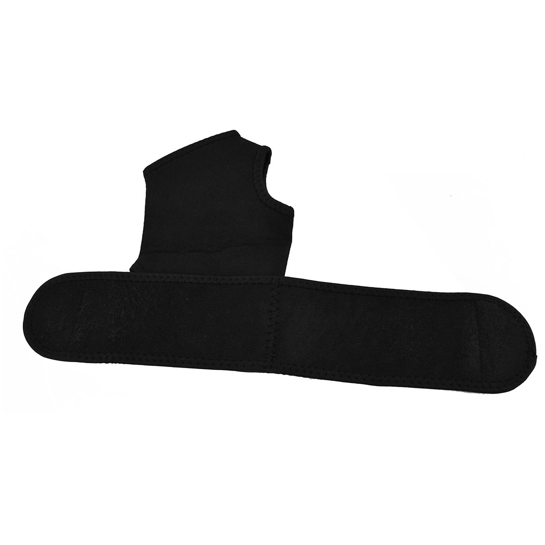 Outdoor Adjustable Sport Football Ankle Support Brace Wrap Protector Black