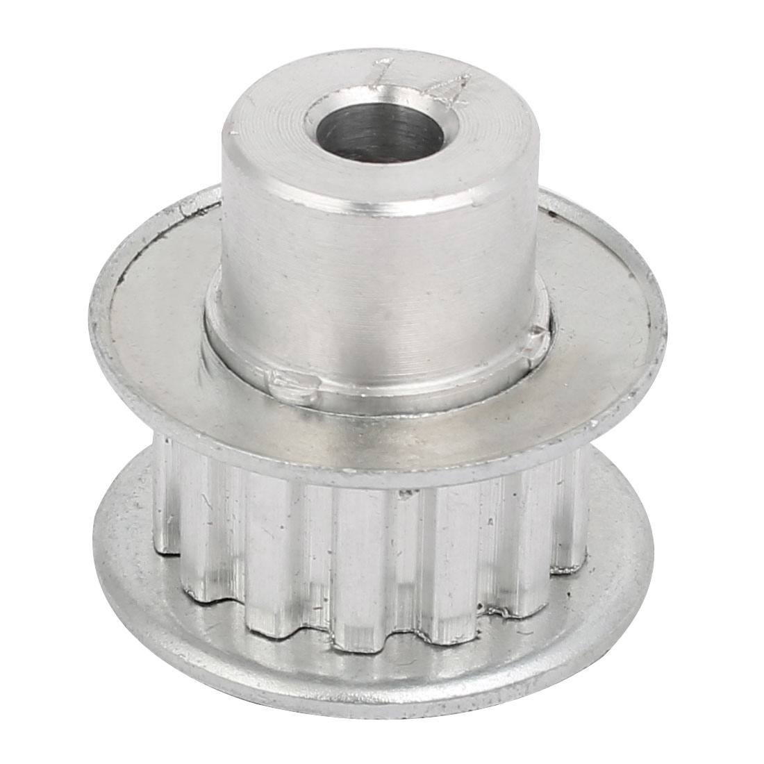 14 Teeth 6mm Bore Synchronous Wheel Timing Pulley Silver Tone