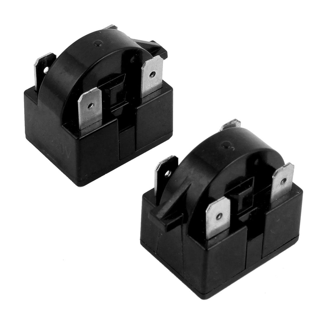 Household Refrigerator Plastic Case 22 Ohm 220V 4 Terminals PTC Starter Relay 5 PCS