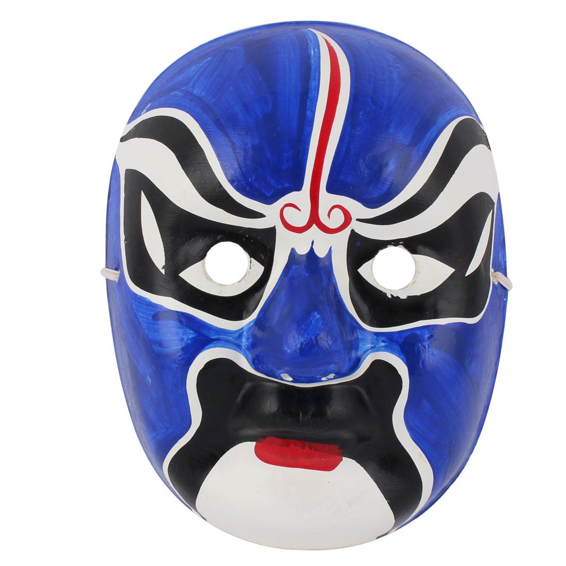 Halloween Karneval Cosplay Parties Unisex Chinese Beijing Opera Facial Makeup Mask