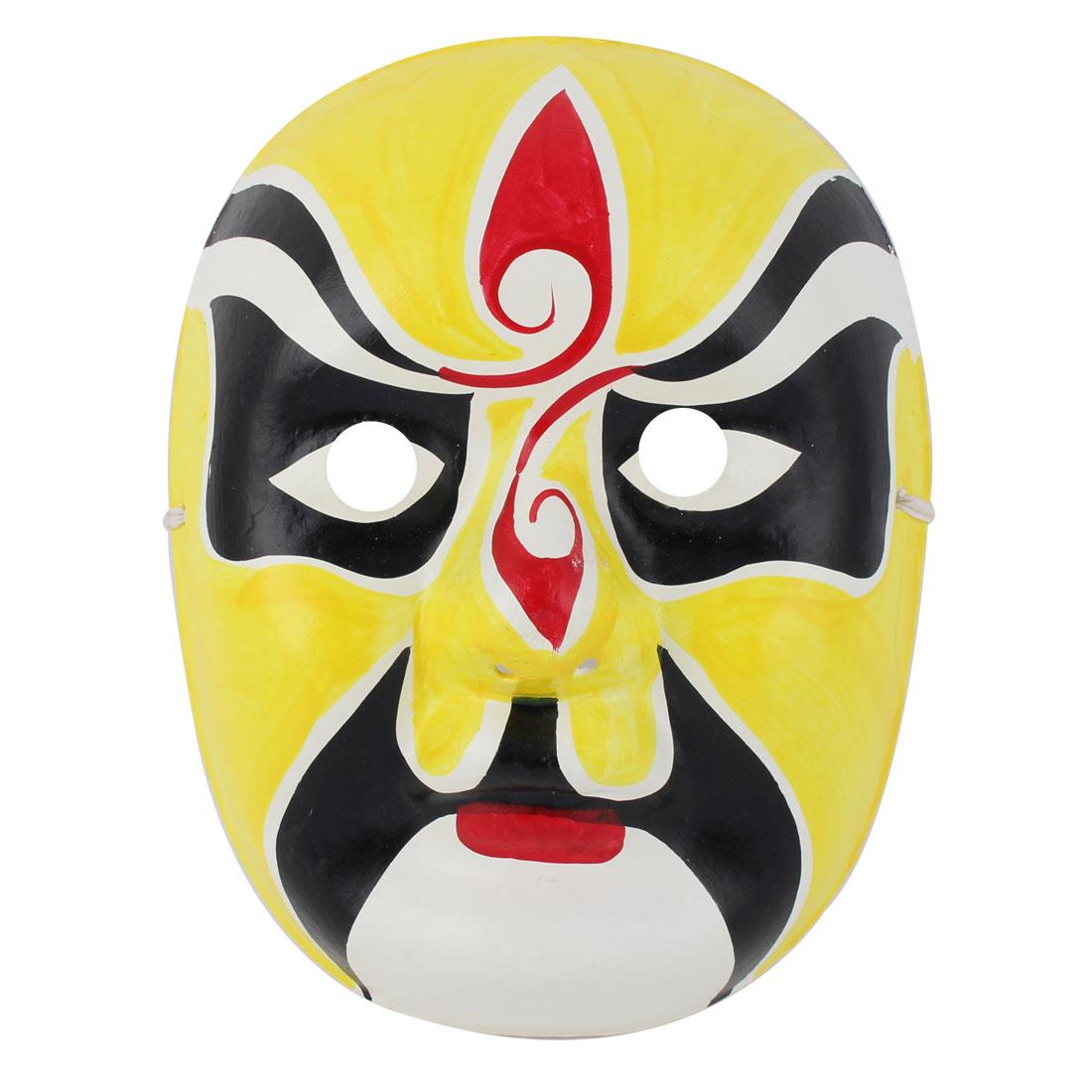 Karneval Cosplay Parties Unisex Decoration Chinese Beijing Opera Face Makeup Mask