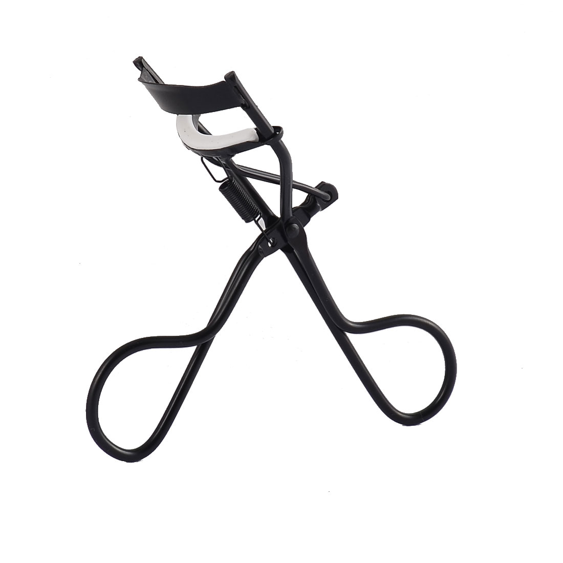 Women Lady Cosmetic Makeup Metal Manual Eyelash Curler Clip Beauty Tool Black