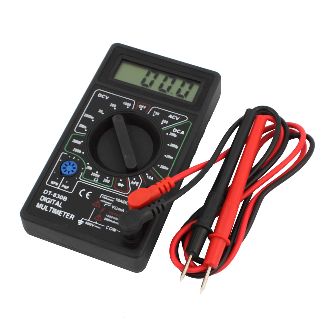 Pocket Digital Multimeter DT-830B With Battary HDE Digital Multimeter