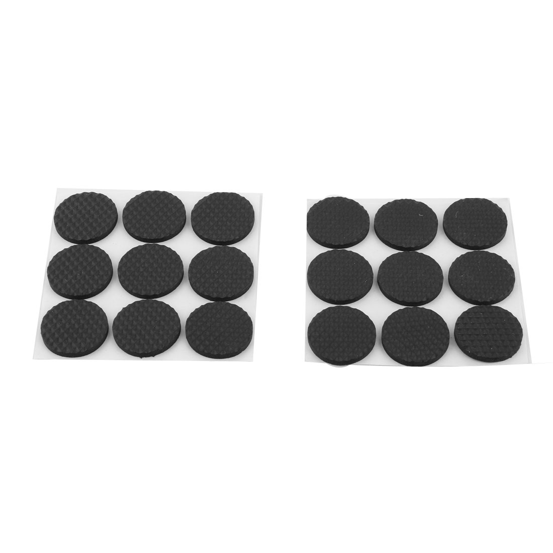 Family Living Room Furniture Table Chair Protection Cushion Pads Black 18pcs