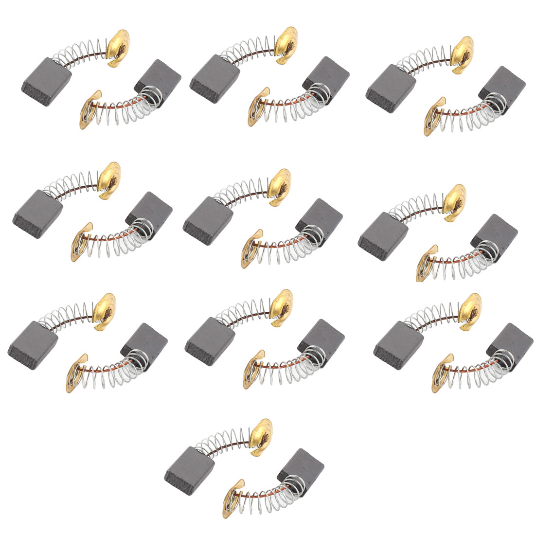 10 Pairs 15 x 11x 5mm Electric Motor Carbon Brushes Power Tool