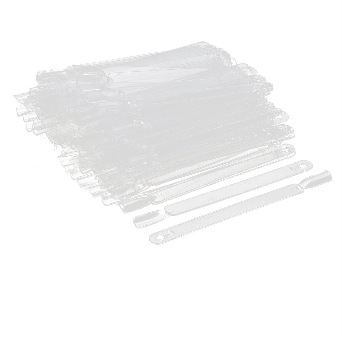 Manicure Plastic Fan Board Nail Art Tips Display Practice Sticks 150 in 1