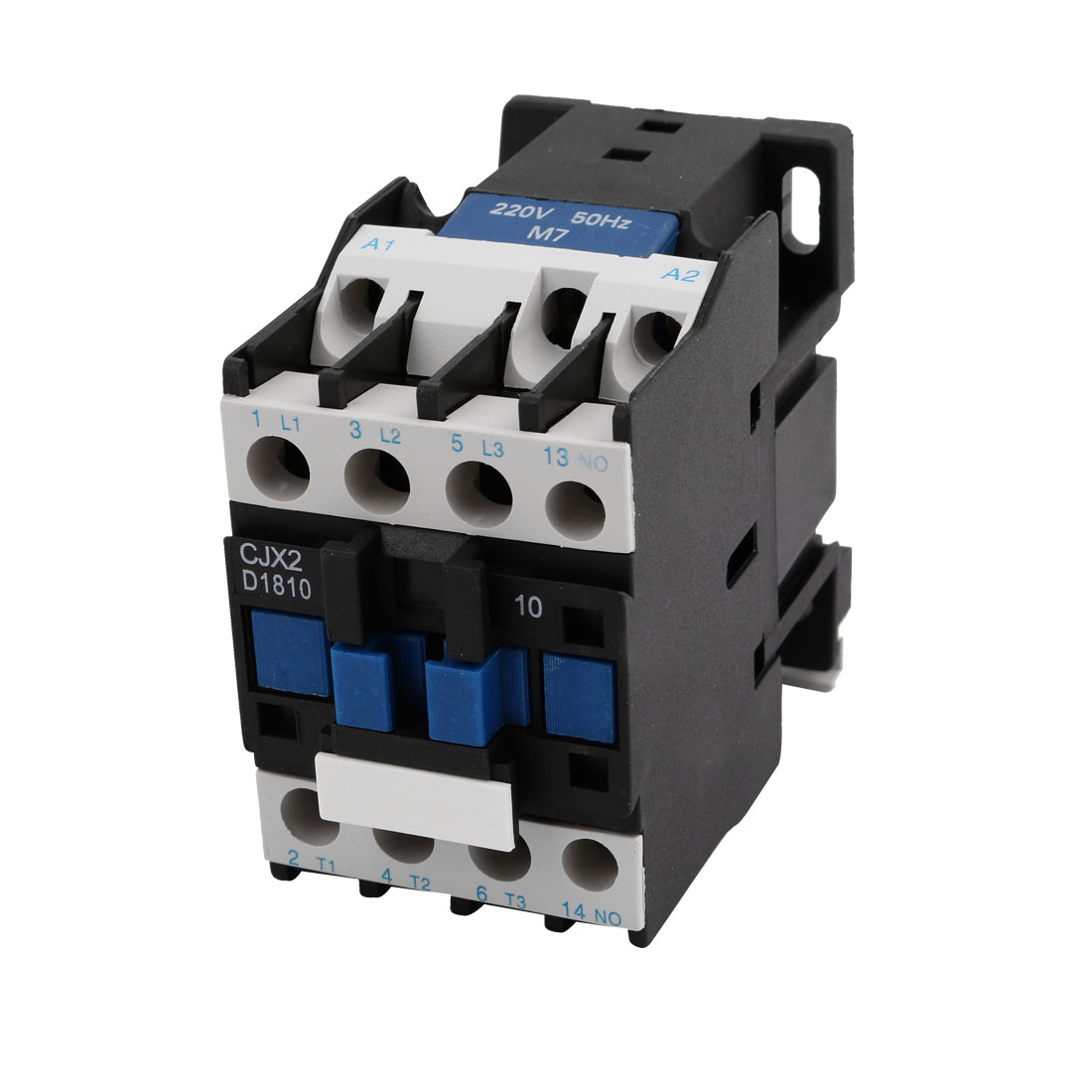 CJX2-1810 220V 50Hz Rated Coil Voltage 3Phase 1NO AC Contactor Ith 32A Ui 660V