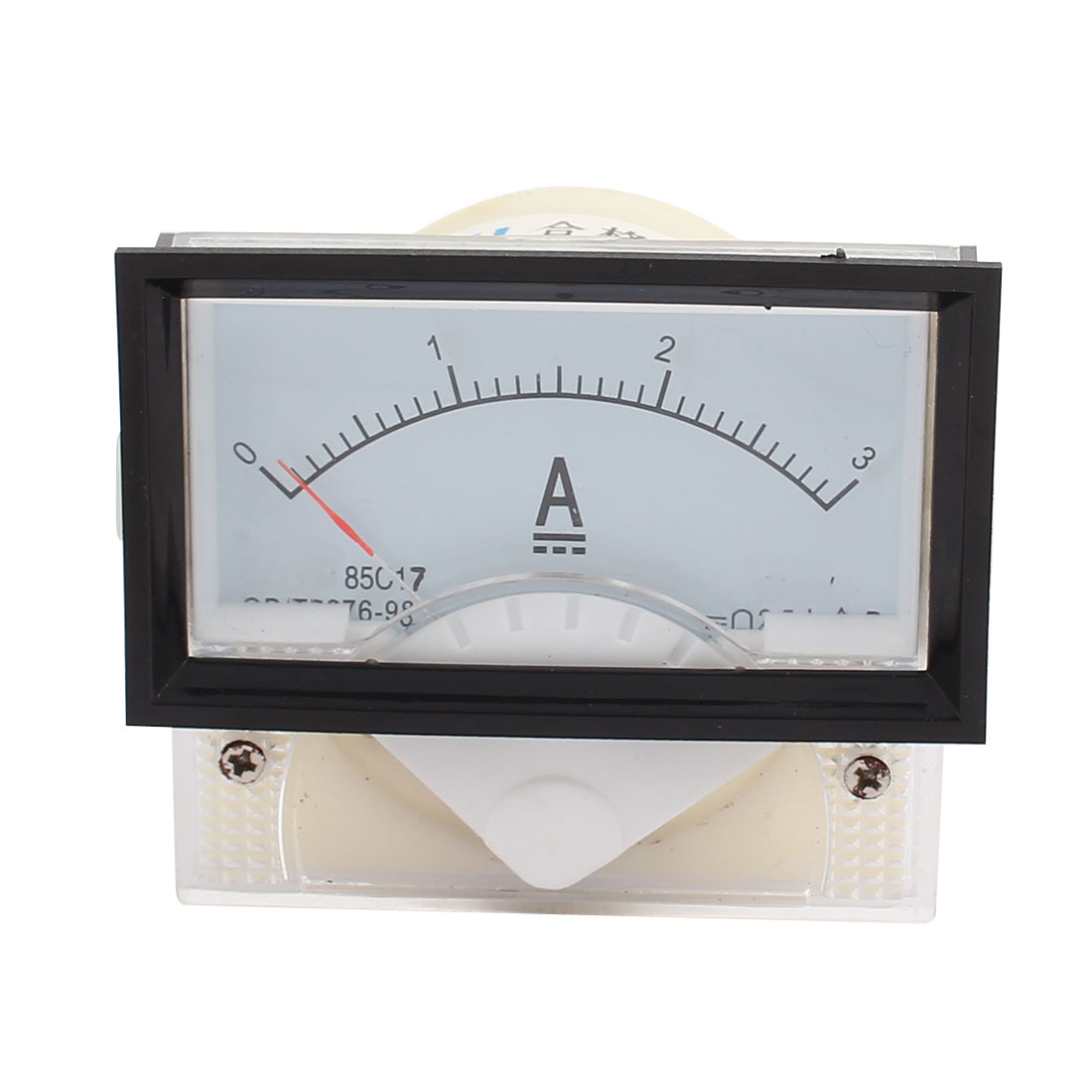 85C17-A Class 2.5 Accuracy DC 0-3A Analog Panel Meter Ammeter Amperemeter