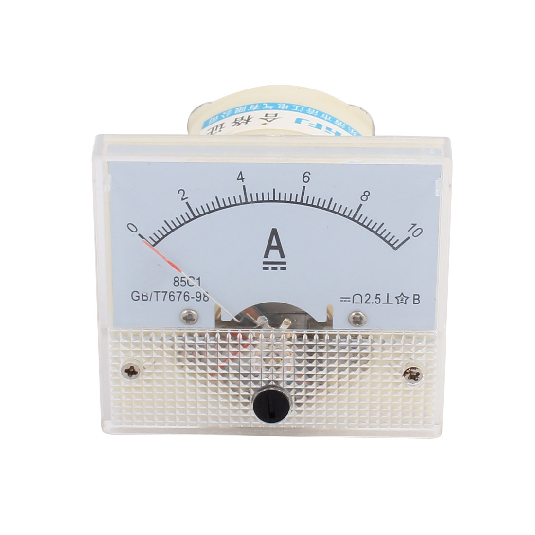 85C1-A Class 2.5 Accuracy DC 0-10A Analog Panel Meter Ammeter Amperemeter