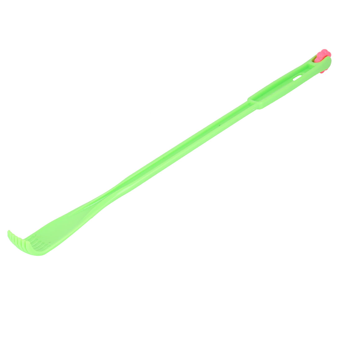 Household Plastic Relaxation Relieve Itching Back Scratcher Claw Green 45cm Length