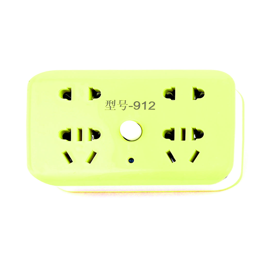 AU to AU EU US 250VAC 10A 4-Outlets On/Off Red Lamp Indicator Power Adapter Socket Green