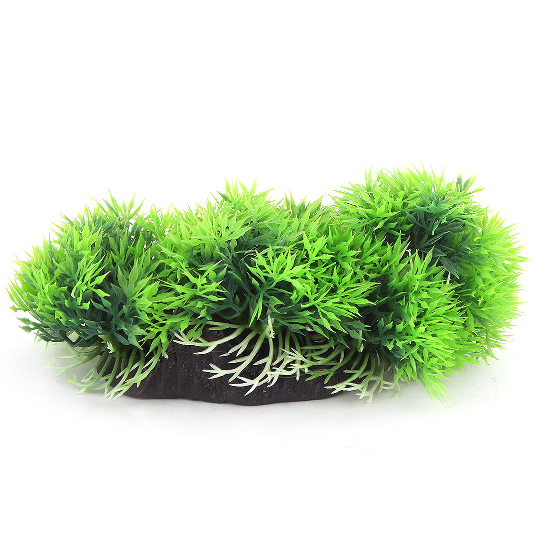 Aquarium Fish Tank Plastic Simulation Water Plants Decoration Green