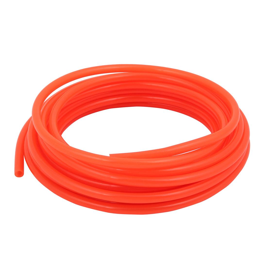 9M Length 8mm x 5mm Diameter Quick Connector Polyurethane Tube PU Air Pipe