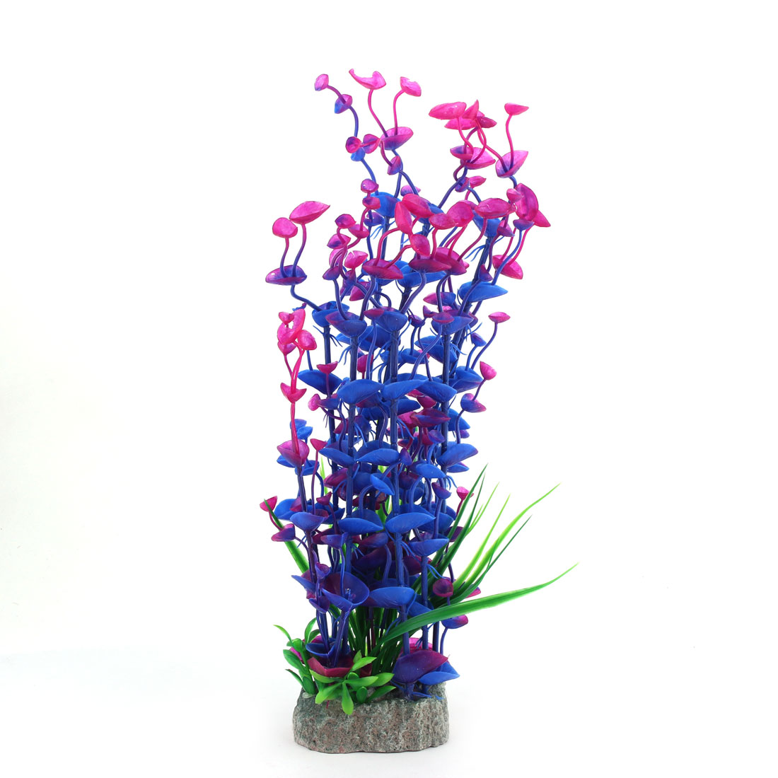 Aquarium Fish Tank Artificial Tropical Vivid Scenery Decoration Water Plant