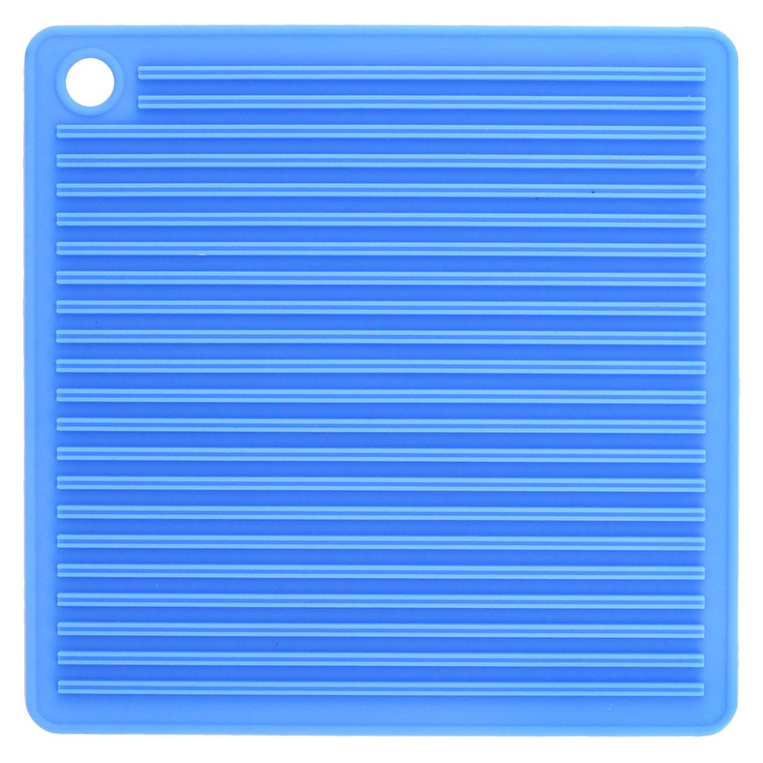 Pubs Rubber Nonslip Heat Resistance Teacup Mug Cup Mat Pot Coaster Pad Holder Blue
