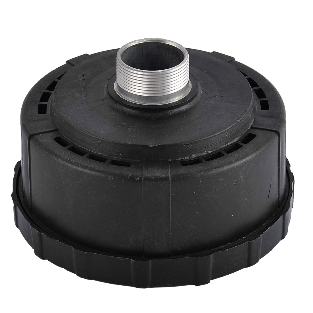 30mm Thread Dia Plastic Housing Air Compressor Intake Filter Muffler Black