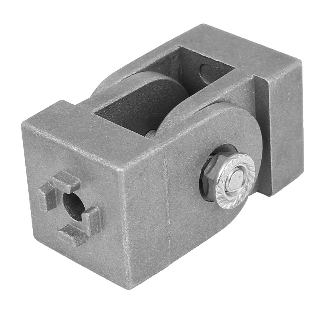 Metal Angle Connector Arbitrary Coupling Movable Living Hinge Joint Axis