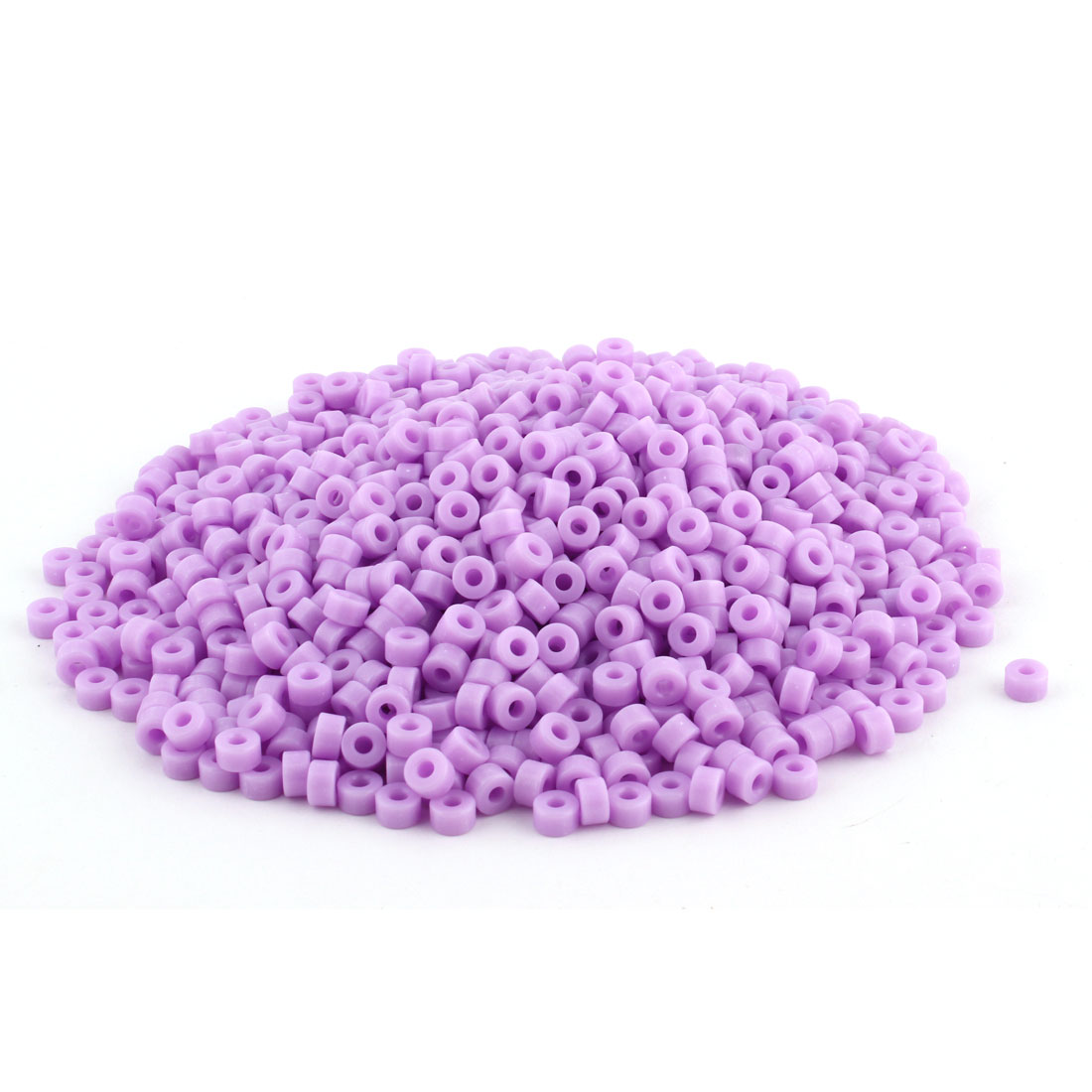 1000 Pcs Plastic Column Insulated Spacer Washer Standoff Pillars Support Lilac