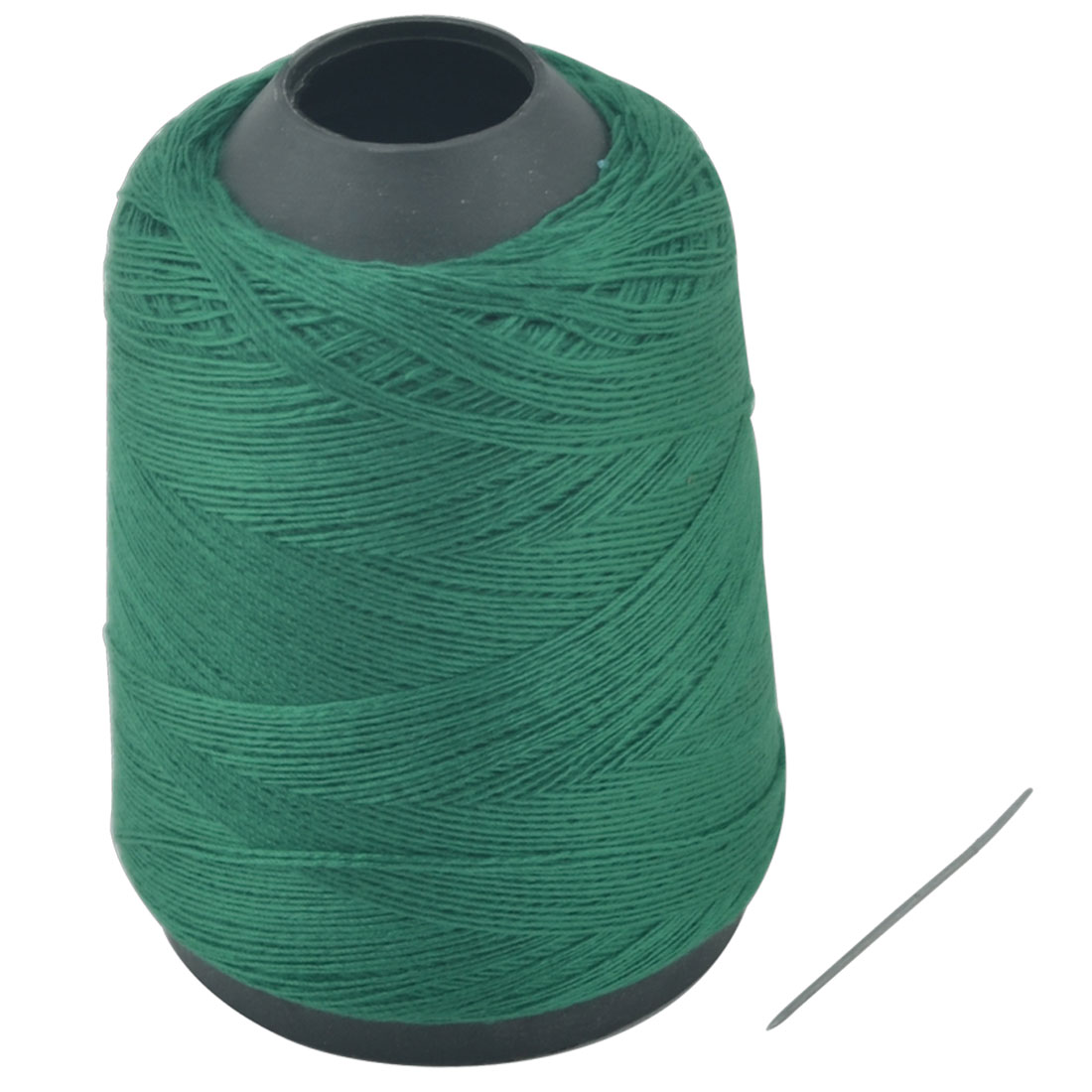 Tailor Polyester Tower Shape Crafting Clothing Sewing Thread Reel Green