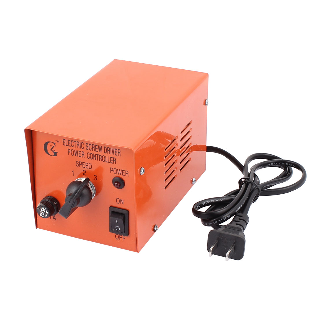 Metal Housing Electric Screw Driver Power Supply Controller Orange