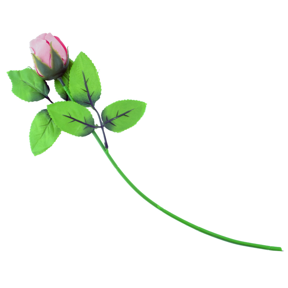 Wedding Party Festival Plastic Emulational Artificial Rose Flower Bud Bouquet Decor