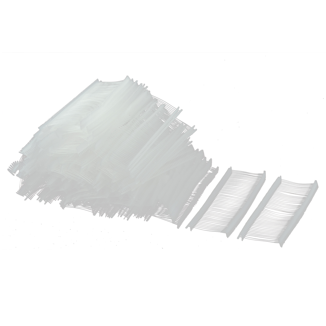 Plastic Snap Lock Security Loop Tag Fastener White 35mm Inner Dia 5000 Pcs