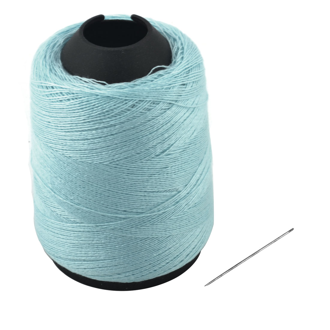 Tailor Polyester Tower Shape Crafting Clothing Sewing Thread Reel Blue