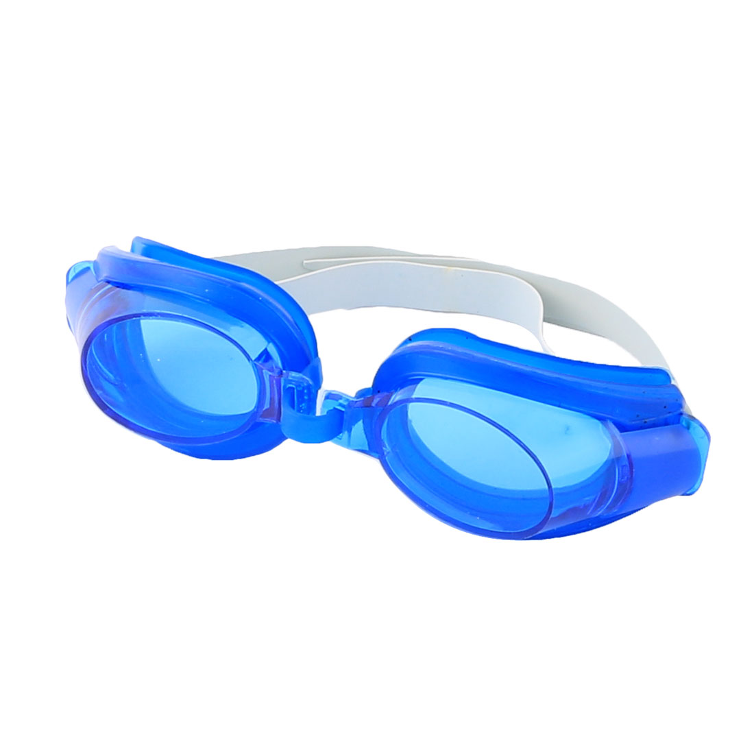 Adult Plastic Frame Silicone Swimming Goggles Spectacles Earplugs Nose Clips Set
