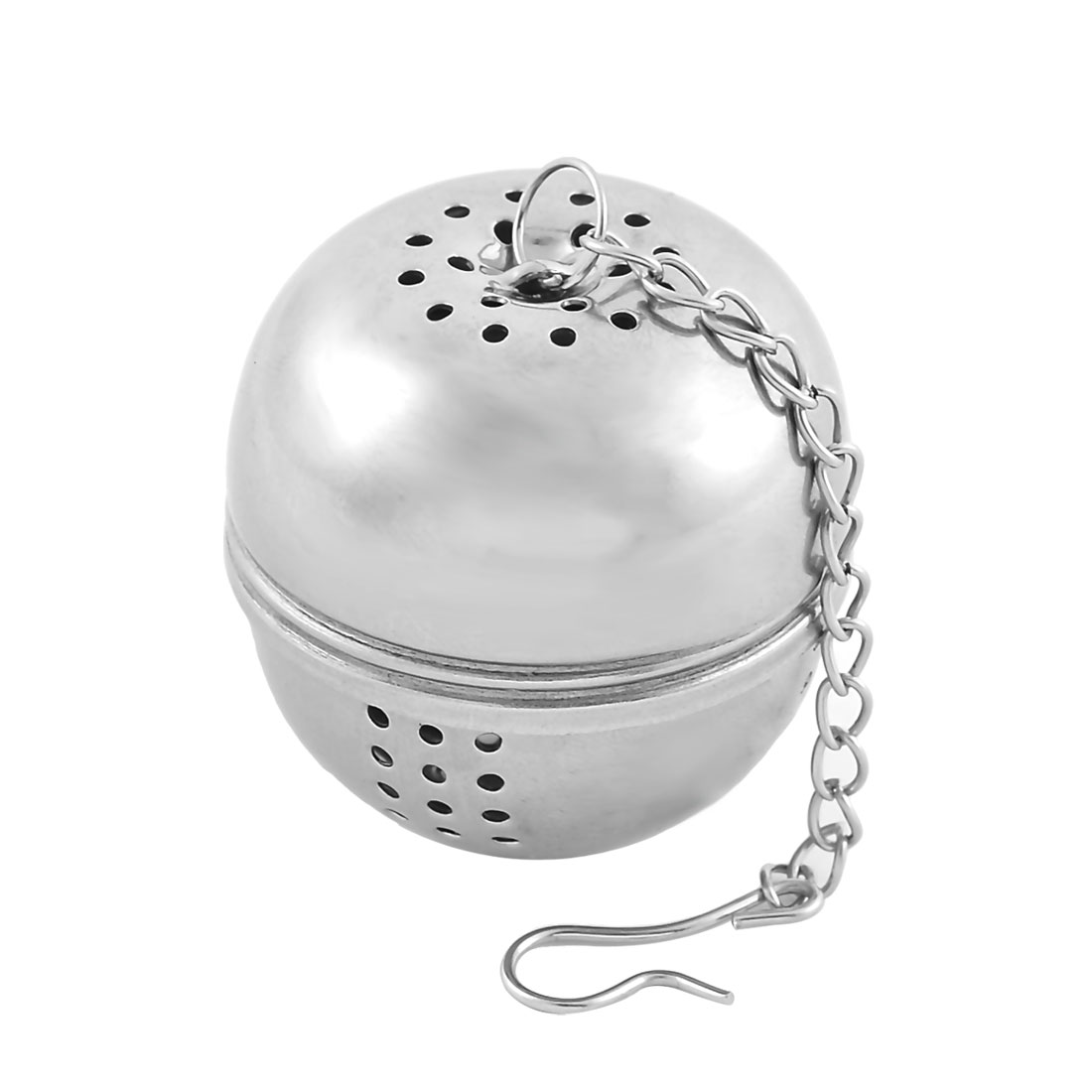 Stainless Steel Round Shaped Ball Infuser Filter Diffuser Tea Strainer 3.8cm Dia
